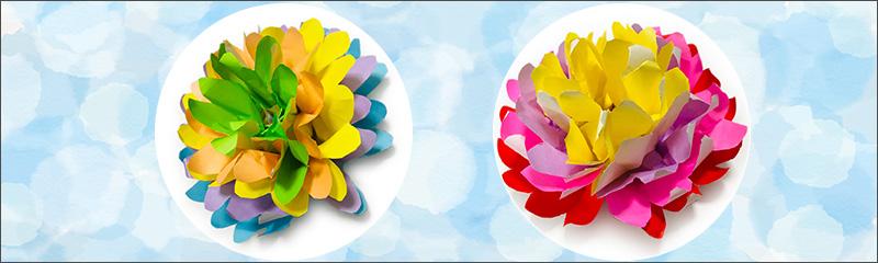 お花折り紙