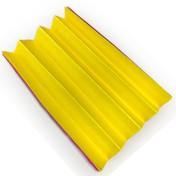 折り紙「お花」作り方1